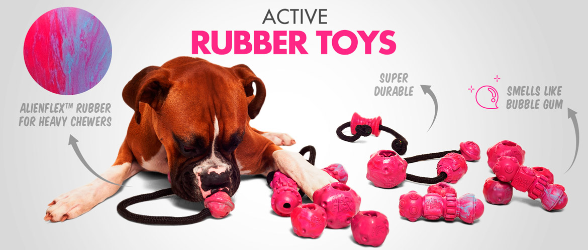 Active Rubber Toys