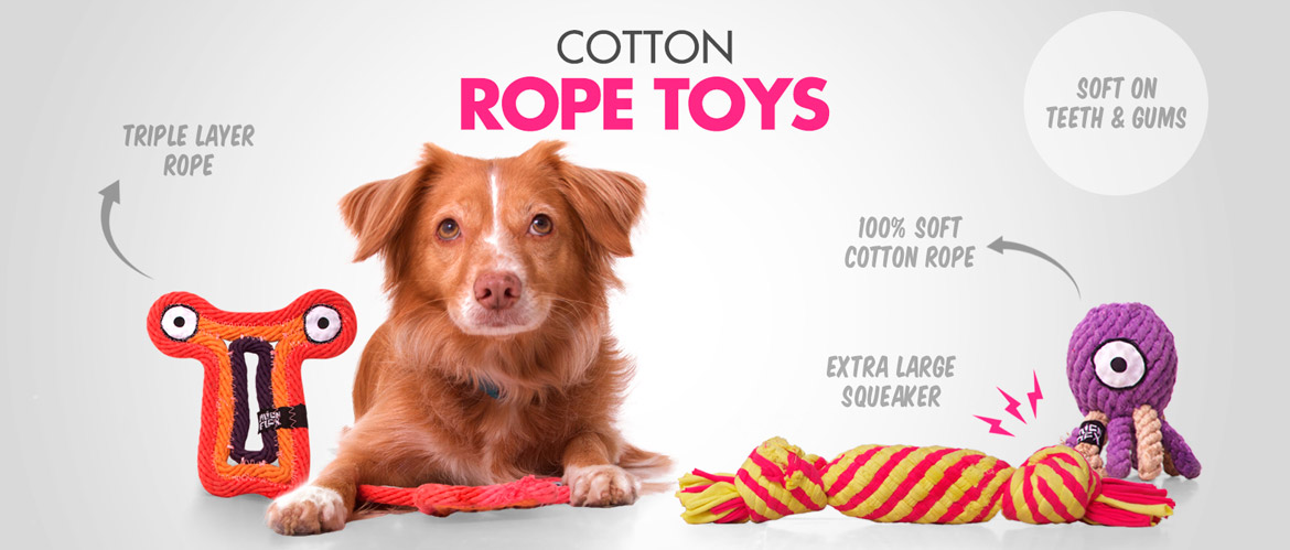 Cotton Rope Toys